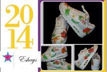 Floral Nike Air Max / #nike#nikeshoes#shoes#tropico#tropical#tropicalprint#tropicalshoes#air#max#airmax#nikeairmax www.eshays.com @eshayfrancois