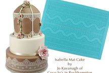 Lace Cake Mats & Moulds