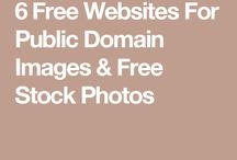 Public Domain Images and works