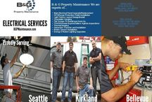 Electrical Services Presentation and Infographic / Electrical tips infographic and electrical services presentation pin images collection.