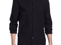 Calvin Klein Jeans Men's Printed Dot Tuxedo Shirt