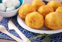 Trottole Girarrosti Santa Rita / Crocchette di patate / Potato croquettes