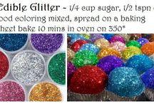 Glitter recipe