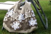 Borsa Crochet / Corda e fiori