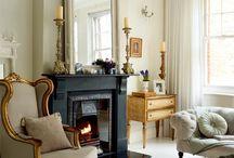 genuine living room ideas / by Alanna Markham