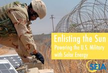 Military Initiatives / Ecologically oriented DoD projects.