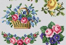 elişi çiçek yapımı ve boncuk süsleme