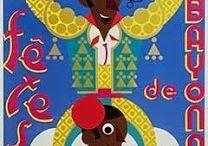 Affiche Bayonne / Fêtes de bayonne