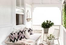 Verandah and windows