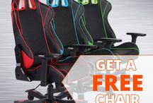 Get a Free Clutch Chairz Gaming Chair / Clutch Chairz are the best choice in computer/gaming chairs and are ideal for any home or office.