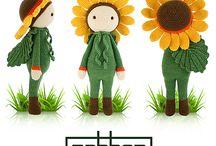 bamboline fiori