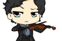Draw Cartoon Sherlock