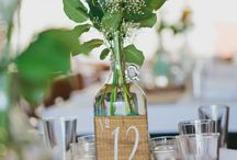 Table layouts / Centre pieces, name cards and anything else for you guests to feel comfortable at the wedding breakfast