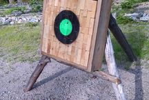 axe targets and throwing axes
