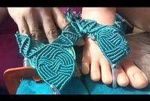 макраме, плетение, вязание