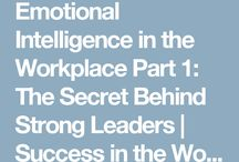 Emotional Intelligence / Emotional Intelligence refers to a person's ability to accurately perceive emotions, comprehend information coming from those emotions, and an ability to effectively manage them.  Research shows that emotional intelligence accounts for 85% of star performance in top leaders.  The Good News is that you can boost your level of emotional intelligence with practice.