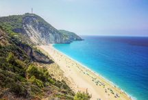 Best 6 beaches in Lefkada, Greece / most beautiful beaches you have to visit in Lefkada Greece