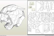 papercraft 3D plantillas