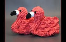 crochet and knitted baby stuff (booties, soks, slippers, toys)