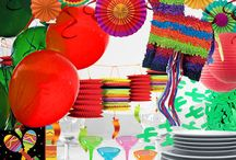 Mexican Fiesta Party Ideas / Get your Cinco de Mayo on with a colorful and fun fiesta party! Viva Mexico!!!