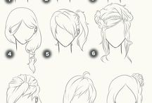 Art | Hair tutorials~