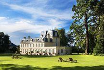 Chateau la Cheneviere / Chateau la Cheneviere Normandy France