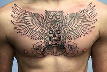 Tetování sovy