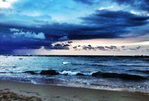 I mille volti del mare / Le innumerevoli espressioni di un viso a noi così sconosciuto.