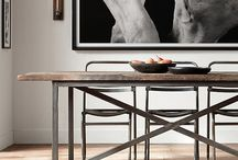 Dining / Home decor and interior design inspiration for desirable dining, from tables to chairs, lighting to placemats, for your loft apartment or warehouse home.