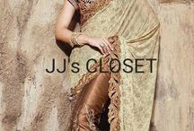 Designer Saree from JJ's CLOSET