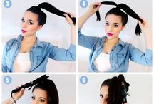 Gettin my hair did...how to style / by Ashley Conn