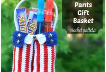 Crochet Baskets / You will find free crochet patterns for baskets, small, med, large, easter and others