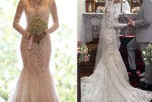 Vestidos de Noiva - Casamento - Bride- Wedding / Pins para noivas e madrinhas