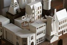 Papierowe miasta / Metodyka zajęć technicznych • Inspiracje dla studentów...