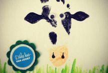 Cute feet & handprint crafts