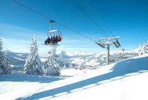 Les Gets images / Some images of the ski resort of Les Gets, part of the Portes du Soleil ski area.