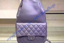 Chanel quilted drawstring with flap bag