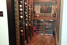 Wine Room Ideas / Hello I Live Here wine room designed by Linda Crandall www.helloilivehere.com / by Hello I Live Here