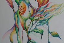 Outras Botânicas / Série Outras Botânicas Lápis de cor s/ papel 29,7 x 42cm 2017