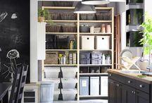 Pomoćna rješenja za odlaganje / Od tvoje kolekcije ploča do pribora za vrtlarenje, pomoćno će ti odlaganje pomoći stvoriti prostor za tvoje omiljene stvari. I, ako maksimalno iskoristiš prostor, napokon ćeš imati prostoriju u kojoj ćeš u tim stvarima moći i uživati. / by IKEA Hrvatska