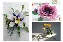 курс обучения по изготовлению цветов
