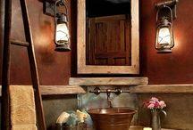 bathroom ideas / by Barbara Glosson