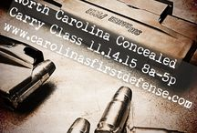 """North Carolina Concealed Carry Classes /  North Carolina Concealed Carry Handgun Class """"NC CCW"""" is our most popular class in which we have a high enrollment for each class, however, we also teach: Tactical Pistol, Ladies On The Range, H.R. 218 for Retired Law Enforcement Officers, Precision Rifle, as well as Carbine Courses. We are able to teach these classes in the following areas: Charlotte, Monroe, Gastonia, Lincolnton, Hickory, Kings Mountain, Shelby, Rutherfordton."""