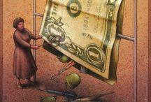 Pawel Kuczynski / Ciniche illustrazioni