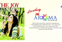 JM Aroma Noida / JM housing presents a new project, JM Aroma at sector 75 Noida. JM Aroma consist of excellent features like as club, swimming pool, gymnasium, 24x7 security system, children's play park, Power backup etc.