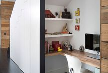 Home offices / Charming spaces, to have an idea that you can use every corner you have to have your own home office.