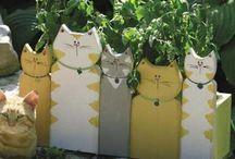 gard cu pisici