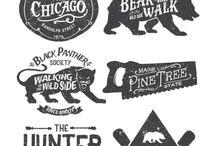 ink vintage design