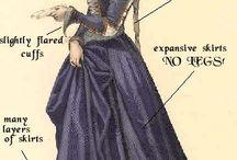 historyczny kostium