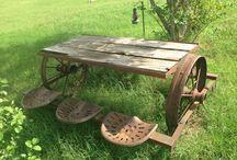 Piknik asztalok